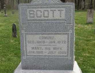 SCOTT, EDMUND - Delaware County, Ohio   EDMUND SCOTT - Ohio Gravestone Photos