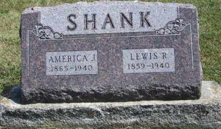 THORTON SHANK, AMERICA JANE - Delaware County, Ohio | AMERICA JANE THORTON SHANK - Ohio Gravestone Photos