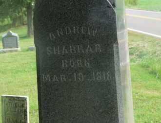SHARRAR, ANDREW - Delaware County, Ohio   ANDREW SHARRAR - Ohio Gravestone Photos