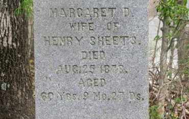 SHEETS, MARGARET D. - Delaware County, Ohio | MARGARET D. SHEETS - Ohio Gravestone Photos