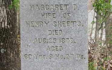 SHEETS, MARGARET D. - Delaware County, Ohio | MARGARET D. SHEETS - Ohio Gravestone Photos