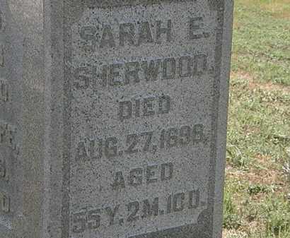 SHERWOOD, SARAH E. - Delaware County, Ohio | SARAH E. SHERWOOD - Ohio Gravestone Photos