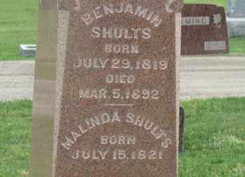 SHULTS, BENJAMIN - Delaware County, Ohio | BENJAMIN SHULTS - Ohio Gravestone Photos