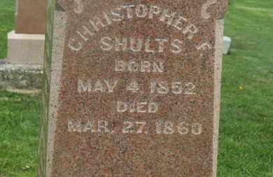 SHULTS, CHRISTOPHER F. - Delaware County, Ohio | CHRISTOPHER F. SHULTS - Ohio Gravestone Photos