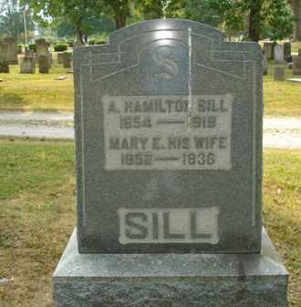 SILL, MARY E - Delaware County, Ohio | MARY E SILL - Ohio Gravestone Photos