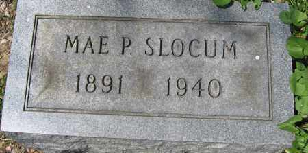 SLOCUM, MAE P. - Delaware County, Ohio | MAE P. SLOCUM - Ohio Gravestone Photos