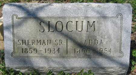 SLOCUM, SR., SHERMAN - Delaware County, Ohio | SHERMAN SLOCUM, SR. - Ohio Gravestone Photos