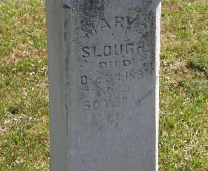 SLOUGH, MARY - Delaware County, Ohio   MARY SLOUGH - Ohio Gravestone Photos