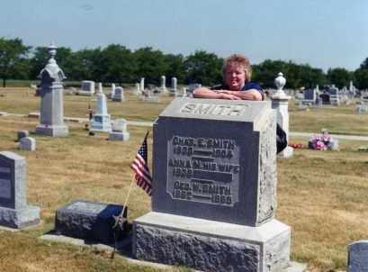 TWINING SMITH, ANNA MOORE - Delaware County, Ohio | ANNA MOORE TWINING SMITH - Ohio Gravestone Photos
