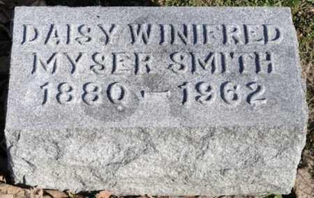 SMITH, DAISY WINIFRED - Delaware County, Ohio | DAISY WINIFRED SMITH - Ohio Gravestone Photos
