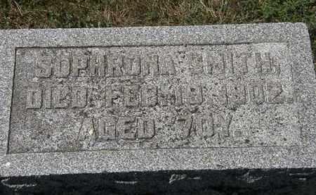 SMITH, SOPHRONA - Delaware County, Ohio | SOPHRONA SMITH - Ohio Gravestone Photos