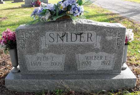 SHERMAN SNIDER, RUTH L. - Delaware County, Ohio | RUTH L. SHERMAN SNIDER - Ohio Gravestone Photos