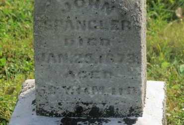 SPANGLER, JOHN - Delaware County, Ohio | JOHN SPANGLER - Ohio Gravestone Photos