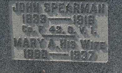 SPEARMAN, JOHN - Delaware County, Ohio | JOHN SPEARMAN - Ohio Gravestone Photos