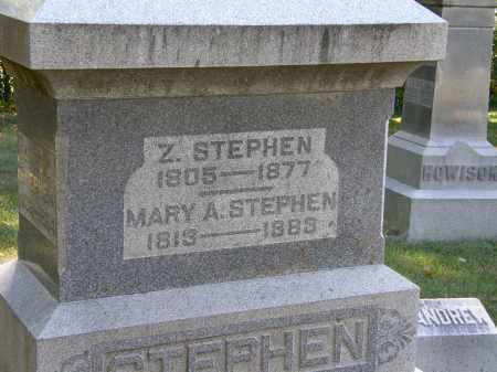 STEPHEN, Z. - Delaware County, Ohio | Z. STEPHEN - Ohio Gravestone Photos