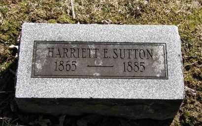 SUTTON, HARRIETT - Delaware County, Ohio | HARRIETT SUTTON - Ohio Gravestone Photos