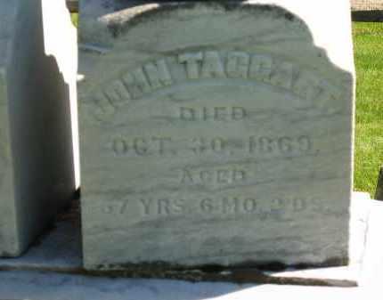 TAGGART, JOHN - Delaware County, Ohio   JOHN TAGGART - Ohio Gravestone Photos