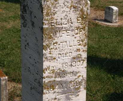 TALLEY, ELIZAE. - Delaware County, Ohio | ELIZAE. TALLEY - Ohio Gravestone Photos