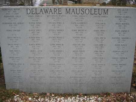 THOMPSON, DELLA M - Delaware County, Ohio | DELLA M THOMPSON - Ohio Gravestone Photos