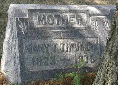 THORMAN, MARY T. - Delaware County, Ohio | MARY T. THORMAN - Ohio Gravestone Photos