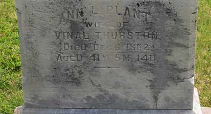 THURSTON, VINAL - Delaware County, Ohio | VINAL THURSTON - Ohio Gravestone Photos