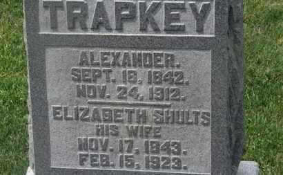 TRAPKEY, ELIZABETH - Delaware County, Ohio | ELIZABETH TRAPKEY - Ohio Gravestone Photos