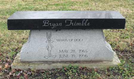 TRIMBLE, BRYAN - Delaware County, Ohio | BRYAN TRIMBLE - Ohio Gravestone Photos