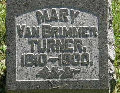 VANBRIMMER TURNER, MARY - Delaware County, Ohio | MARY VANBRIMMER TURNER - Ohio Gravestone Photos