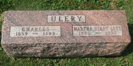 ULREY/LOTT, MARTHA - Delaware County, Ohio | MARTHA ULREY/LOTT - Ohio Gravestone Photos