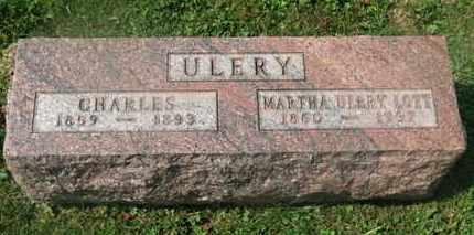 ULERY, CHARLES - Delaware County, Ohio   CHARLES ULERY - Ohio Gravestone Photos