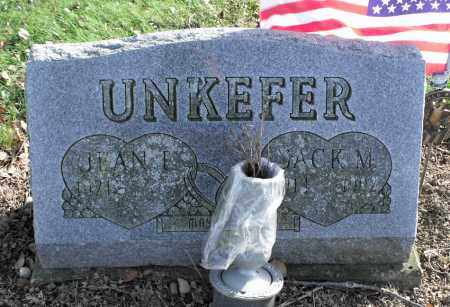 UNKEFER, JACK M. - Delaware County, Ohio   JACK M. UNKEFER - Ohio Gravestone Photos
