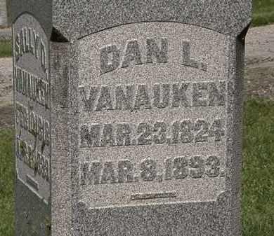 VANAUKEN, DANL. - Delaware County, Ohio   DANL. VANAUKEN - Ohio Gravestone Photos