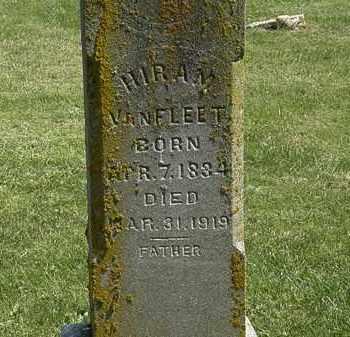 VANFLEET, HIRAM - Delaware County, Ohio   HIRAM VANFLEET - Ohio Gravestone Photos