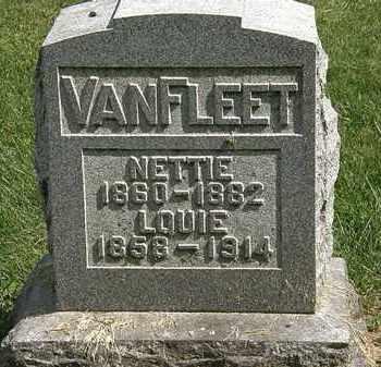 VANFLEET, NETTIE - Delaware County, Ohio | NETTIE VANFLEET - Ohio Gravestone Photos