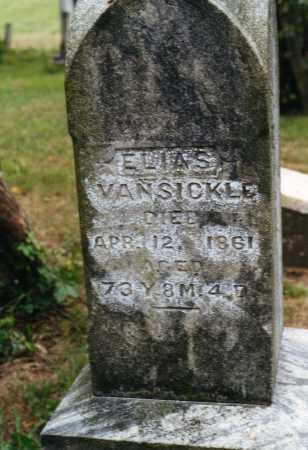 VANSICKLE, ELIAS - Delaware County, Ohio | ELIAS VANSICKLE - Ohio Gravestone Photos