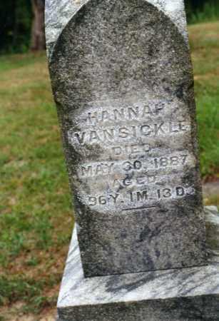 VANSICKLE, HANNAH - Delaware County, Ohio | HANNAH VANSICKLE - Ohio Gravestone Photos