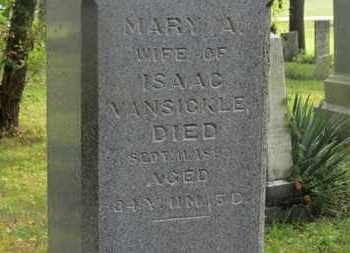 VANSICKLE, MARY A. - Delaware County, Ohio | MARY A. VANSICKLE - Ohio Gravestone Photos
