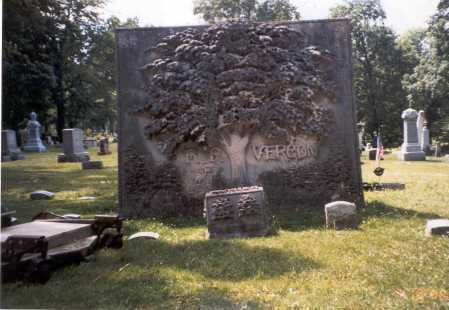 VERGON, F. P. - Delaware County, Ohio   F. P. VERGON - Ohio Gravestone Photos