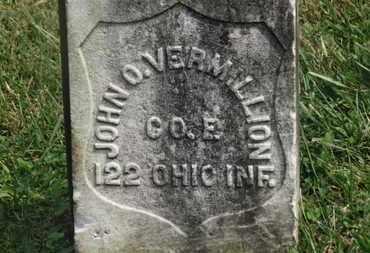 VERMILLION, JOHN O. - Delaware County, Ohio | JOHN O. VERMILLION - Ohio Gravestone Photos