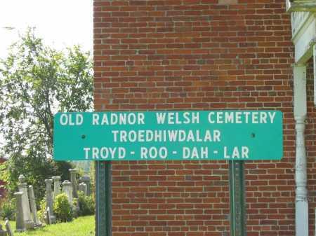 VIEW, CEMETRY SIGN - Delaware County, Ohio | CEMETRY SIGN VIEW - Ohio Gravestone Photos
