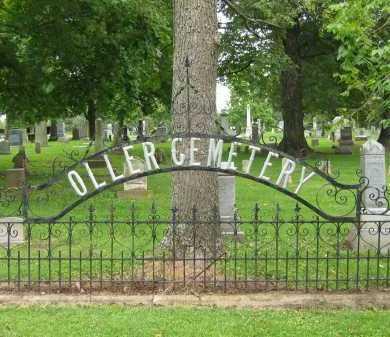 VIEW, CEMETERY SIGN - Delaware County, Ohio   CEMETERY SIGN VIEW - Ohio Gravestone Photos