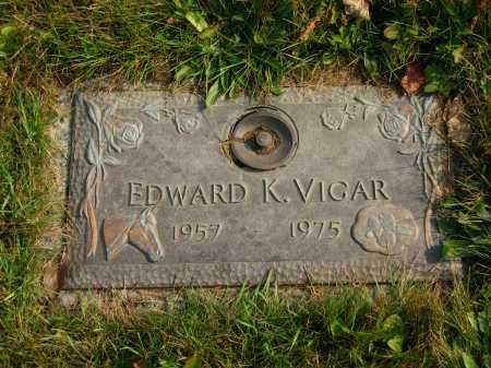 VIGAR, EDWARD K. - Delaware County, Ohio   EDWARD K. VIGAR - Ohio Gravestone Photos