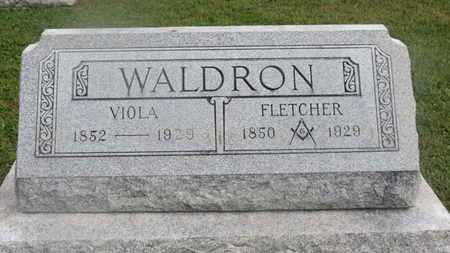 WALDRON, VIOLA - Delaware County, Ohio | VIOLA WALDRON - Ohio Gravestone Photos