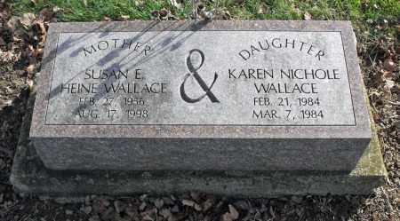 WALLACE, KAREN NICHOLE - Delaware County, Ohio | KAREN NICHOLE WALLACE - Ohio Gravestone Photos