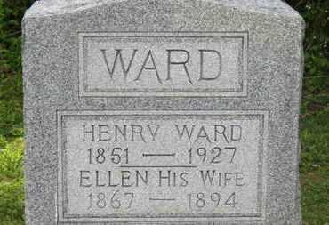 WARD, ELLEN - Delaware County, Ohio | ELLEN WARD - Ohio Gravestone Photos