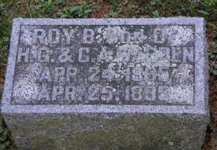 WARREN, ROY. B. - Delaware County, Ohio | ROY. B. WARREN - Ohio Gravestone Photos