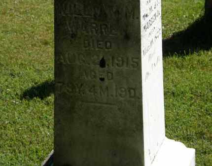 WARREN, WILLIAM M. - Delaware County, Ohio | WILLIAM M. WARREN - Ohio Gravestone Photos