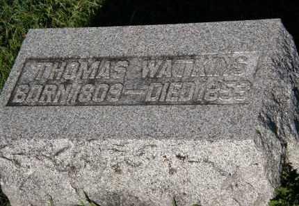 WATKINS, THOMAS - Delaware County, Ohio | THOMAS WATKINS - Ohio Gravestone Photos