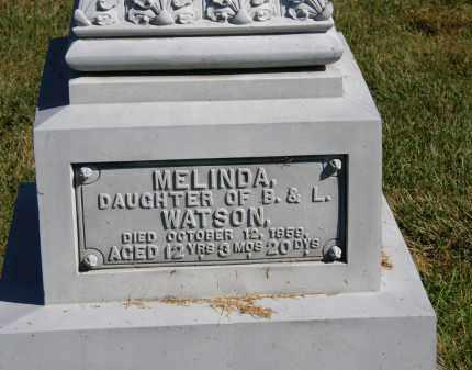 WATSON, MELINDA - Delaware County, Ohio | MELINDA WATSON - Ohio Gravestone Photos