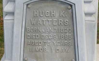WATTERS, HUGH K. - Delaware County, Ohio | HUGH K. WATTERS - Ohio Gravestone Photos